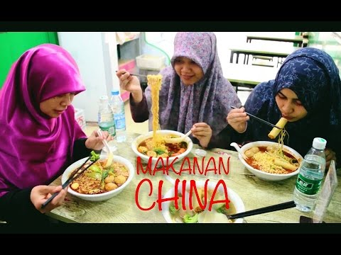 Kantin Makanan Halal Di China Youtube