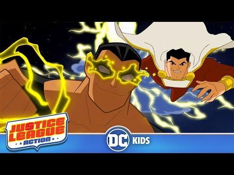 Justice League Action em Português  Shazam  DC Kids