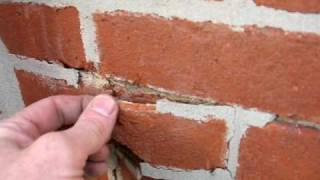 Spalling Bricks caused by Portland Cement