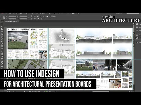 A Complete Guide To Using Indesign For Your Architecture Presentation Boards Youtube