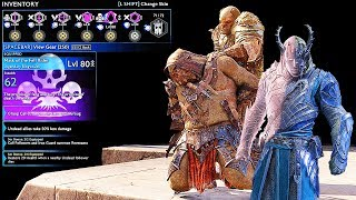 SHADOW OF WAR - UNIQUE SPY KILLING GOLD-FANG OVERLORD DIFFICULTY NEMESIS IN DESERT