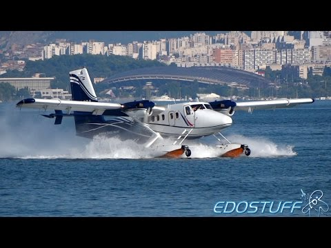 European Coastal Airlines - Takeoff of the First European Seaplane Airline!