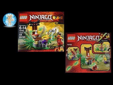 LEGO Ninjago Jungle Trap 70752 Stop Motion Animation Build - Family Toy Report