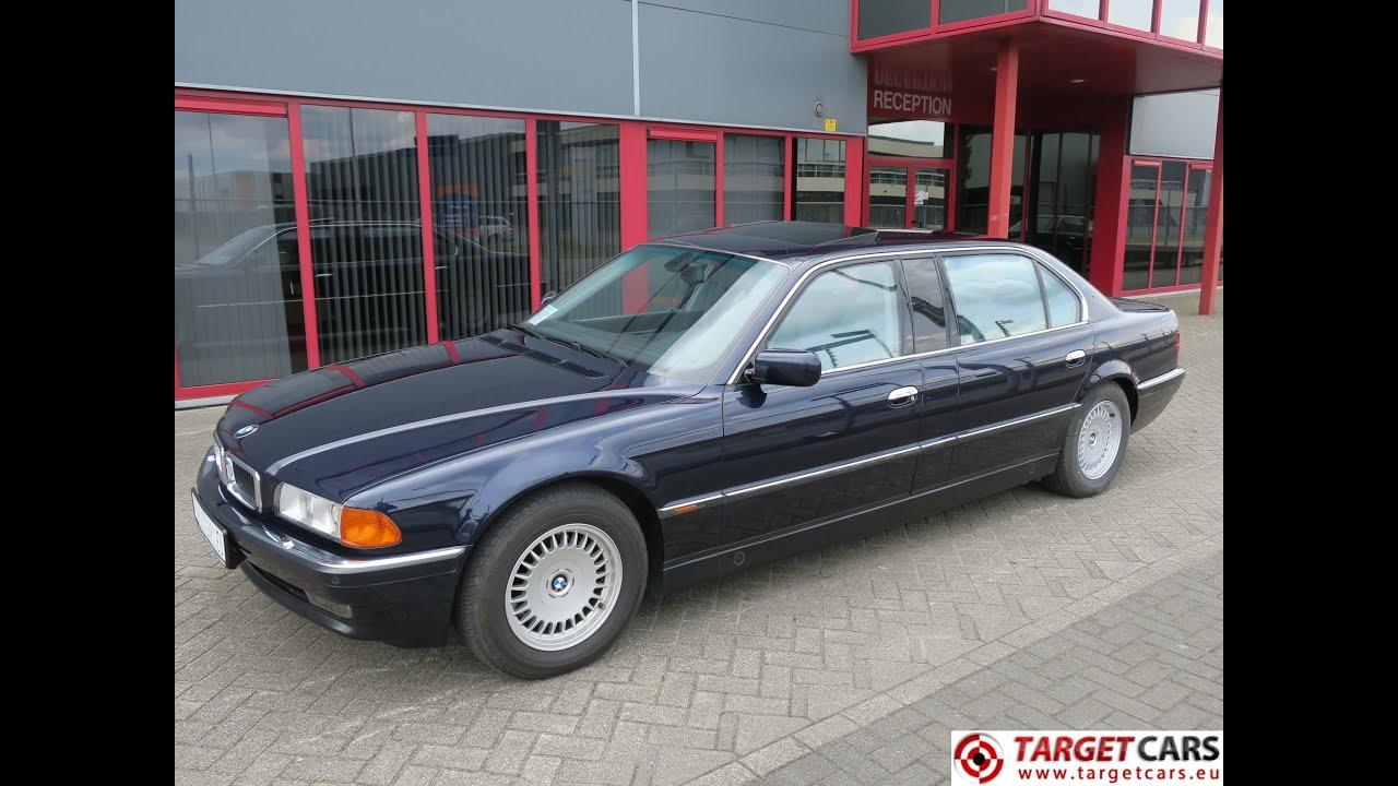 750211 BMW 750IXL L7 EXTRA LONG E38 LIMOUSINE 5.4L V12 326HP 08-99 ...