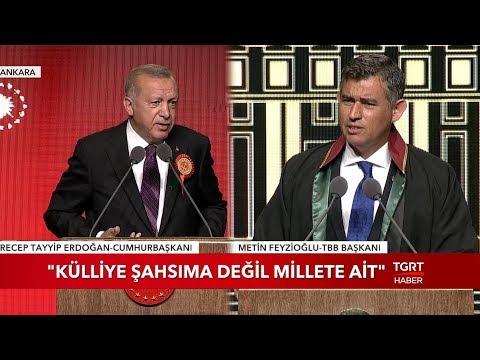 Cumhurbaşkanı Erdoğan'dan Feyzioğlu'na Teşekkür