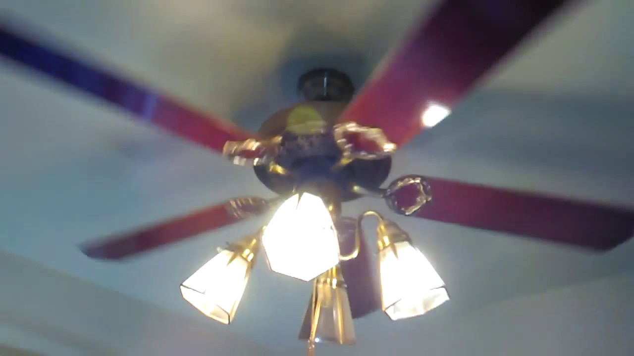 52 Antique Brass Encon Georgian Ceiling Fan