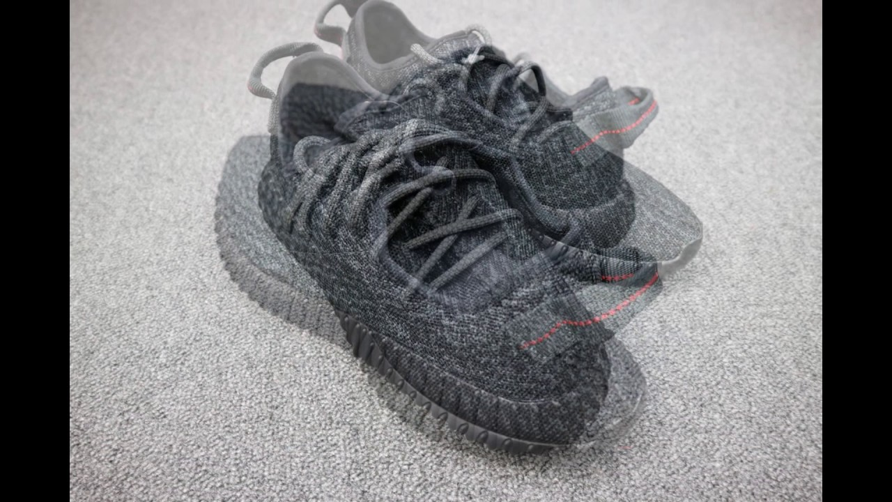 Adidas Yeezy 350 Boost v2 Black Red Unboxing Video