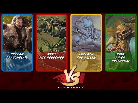 Commander VS S6E8: Surrak vs Rhys vs Volrath vs Sygg [MTG]