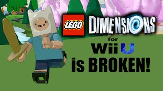 lego dimensions year 2 is unplayable on wii u rant