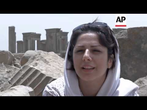 ANCIENT PERSIAN CAPITAL ATTRACTS TOURISTS