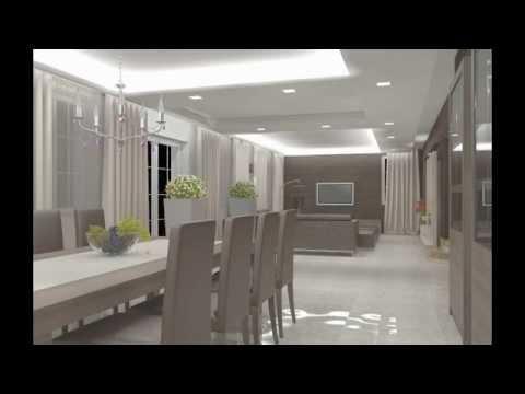 Pokazanie Stref Oświetleniowych Salonjadalnia