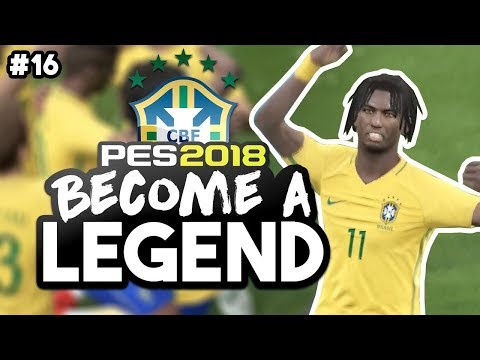 """MOUTINHO AND BRAZIL OFF TO COPA AMERICA!!!"" BECOME A LEGEND! #16