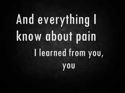 Thank You for the Broken Heart by J Rice Lyrics