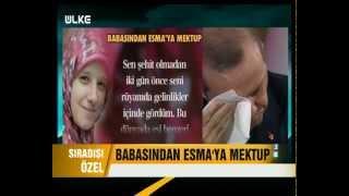 RECEP TAYYİP ERDOĞAN'IN ESMA'YA YAZILAN MEKTUBA AĞLADIĞI ANLAR