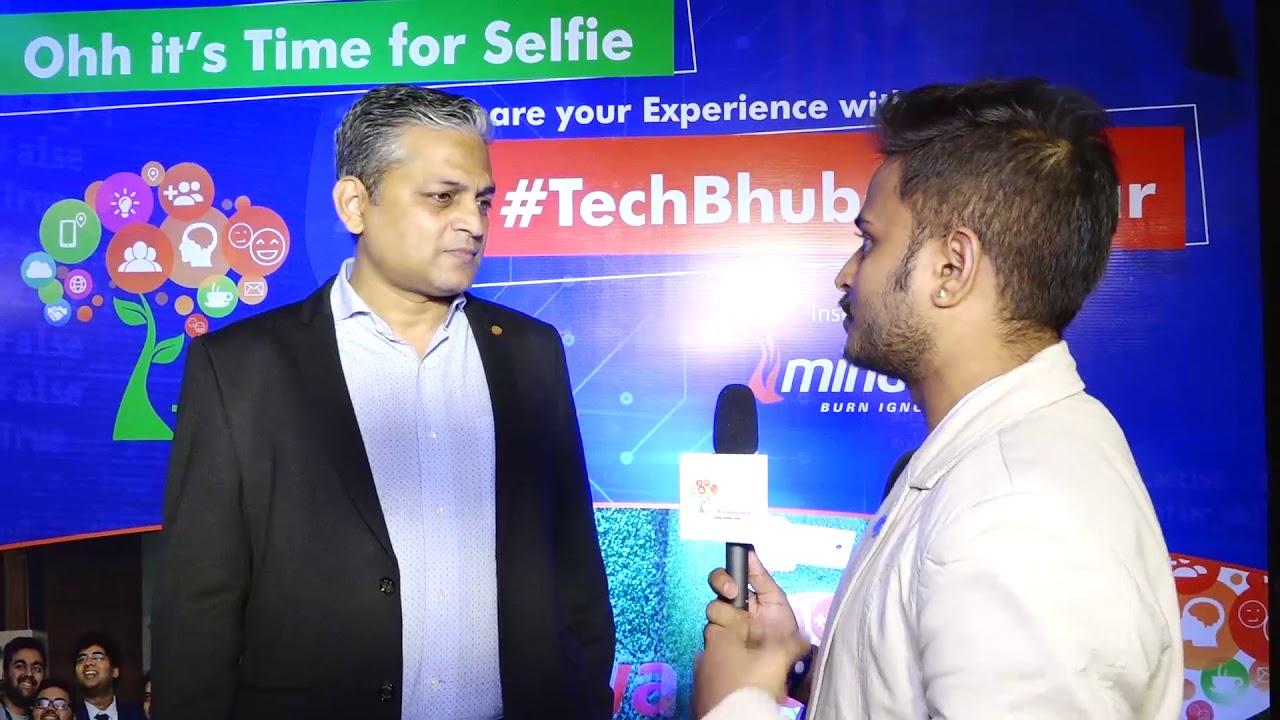 Manoj Kumar Mishra, IT Secretary at Govt of Odisha   His experience about TechBhubaneswar – 2019