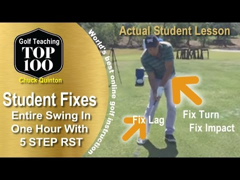 How to Improve Your Golf Swing with RotarySwing 5 Step System