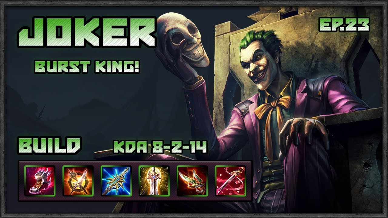 arena of valor the joker is insane best burst marksman