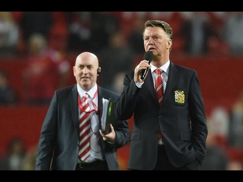 LOUIS VAN GAAL END OF SEASON SPEECH 2015/16 IN OLD TRAFFORD
