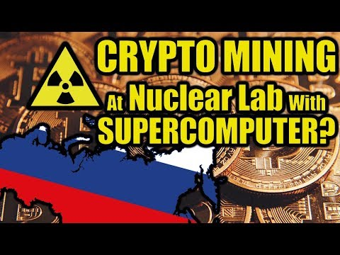 Crazy Scientist Mining Cryptocurrencies In Nuclear Lab In Russia!