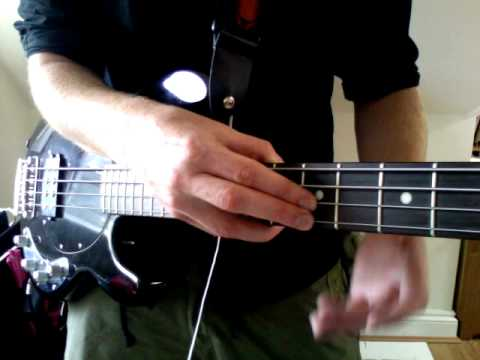 Bass Tapping exercise # 1