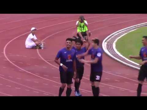 Philippines Football League : Davao Aguilas FC vs Fc Meralco Manila 6/21/17
