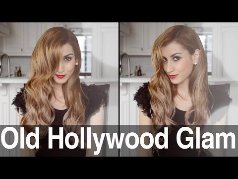 old-hollywood-glam-waves-for-long-or-short-hair-|-fancy-hair-tutorial