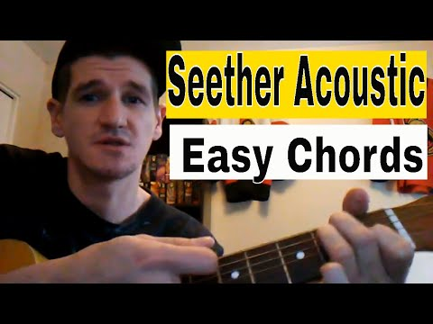 How To Play 'Remedy' - Seether: Easy Acoustic Guitar Tutorial/Lesson