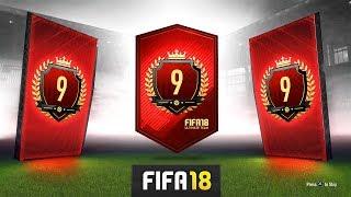 9TH IN THE WORLD REWARDS! (INSANE PACK!) - FUT CHAMPS REWARDS! - FIFA 18 Ultimate Team