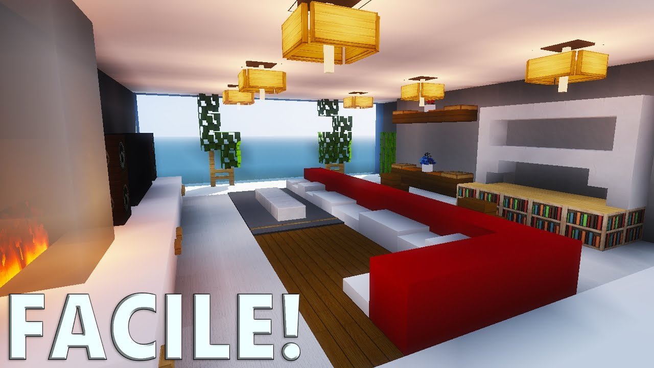 Salle De Bain Moderne Minecraft | Cmc In 3d (without The Glasses ...