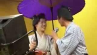 三朝温泉 三楽荘 大宴会動画放送 ①
