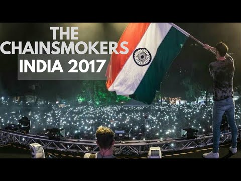 Chainsmokers Playing live in India-2017[Ultra India]