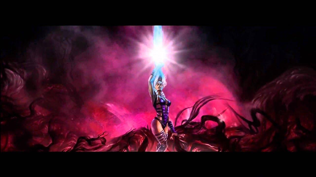 Mortal Kombat 9 Arcade Ending Sindel HD 720p - YouTube