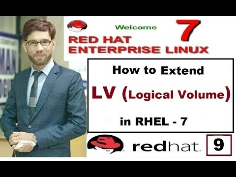 How To Extend LV (Logical Volume) Size In RHEL-7,LVM Part-9, Video No. 113