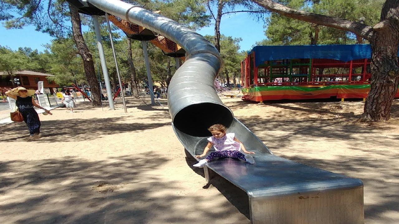 Antalya Park Orman Macera Parkı Zıpzıpta Eğlence şirine Kum Boyama