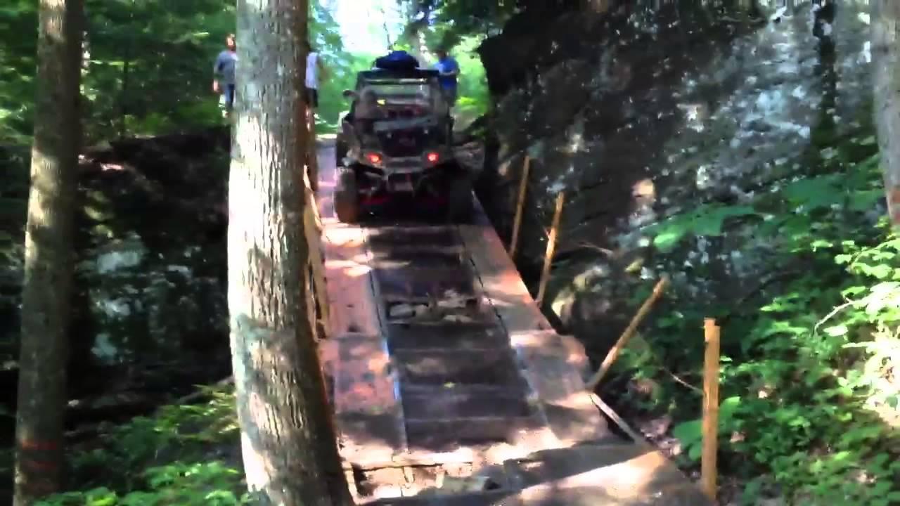 Pickett State Park Car Hauler