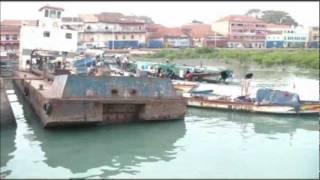 Guinea Bissau, porto de Bissau