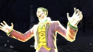 Mortal Kombat Vs DC Universe - The Joker's Card Toss On All Characters