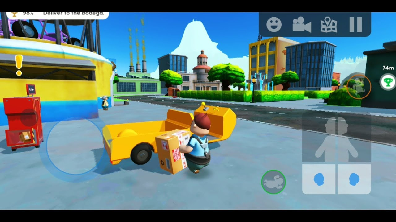 Totally Reliable Delivery Service By Tinybuild Simulation Game For Android And Ios Gameplay Youtube