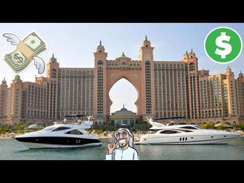 UN DIA EN UN HOTEL DE LUJO EN DUBAI | ATLANTIS LA PALMERA