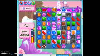 Candy Crush Level 143 Audio Talkthrough, 3 Stars 0 Boosters