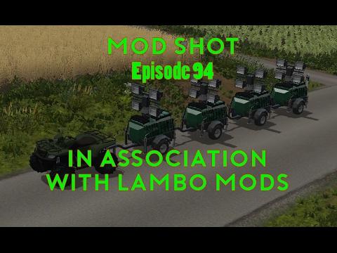 CAGED CONSTRUCTION FLOODLIGHT REAR ATTACHER LAMBO V2 0 for