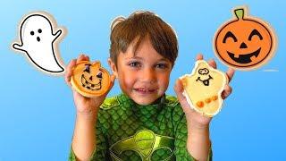 Making Halloween Cookies For Kids