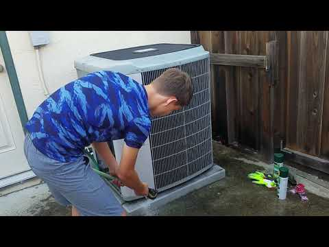 HVAC: 2005 Carrier Infinity Maintenance | Coil Clean & Tune Up