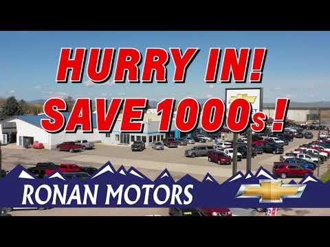 Ronan Motors December Chevrolet Employee Pricing 2019 YOUTUBE