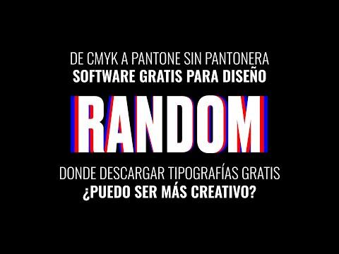 DÍA 11 / De CMYK A Pantone, Tipografías, Software Gratis Para Diseño #yomequedoencasa