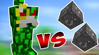 PAI DOS CREEPERS VS. LUCKY BLOCK DE METAL (MINECRAFT LUCKY BLOCK CHALLENGE MEGA MAYOR MOONKASE)