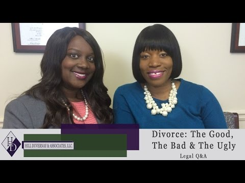 Divorce: The Good, The Bad, & The Ugly