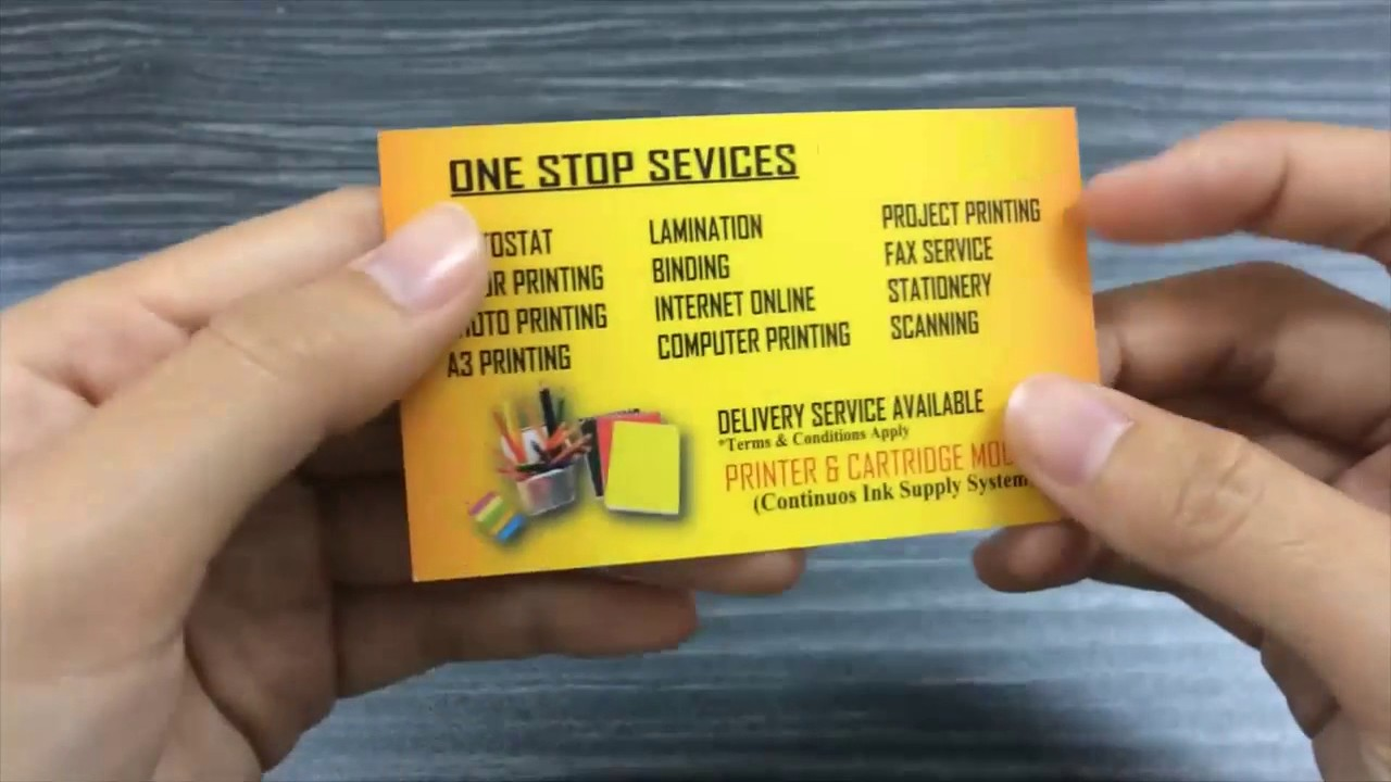 wangsa maju name card printing wangsa maju print name card wangsa maju business card printing - Name Card Printing