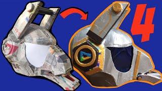 DIY: Make Fortnite Dj Yonder Helmet Part 4, free templates