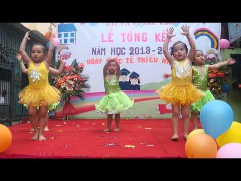 Lời chào của em   Trường MN Việt Úc   Trần Quốc Hoàn